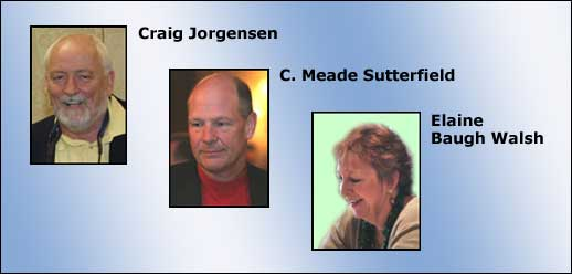 Craig Jorgensen and Elaine Baugh Walsh become committee chairmen; Meade Sutterfield exits.