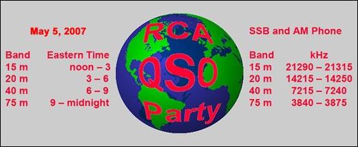 RCA May 2007 QSO party