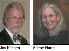 Jay Kitchen and Arlene Harris