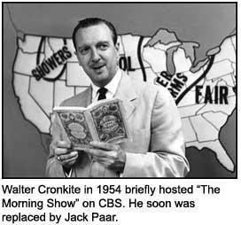 Walter Cronkite hosting