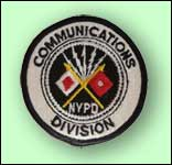 NYPD Communications Division patch