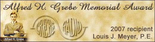 Alfred H. Grebe Memorial Award