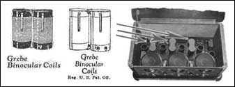 Grebe Binocular Coils