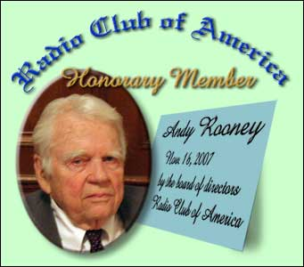 Andy Rooney of the CBS News program