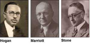 John V.L. Hogan, Robert H. Marriott and John Stone Stone, three of RCA's earliest honorary members (1915).