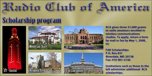 RCA Scholarship Fund.