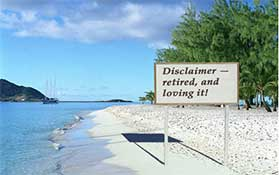 Disclaimer retired