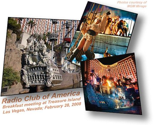 RCA breakfast meeting, Feb. 28, 2008, at Treasure Island Hotel and Casino, Las Vegas, Nevada.