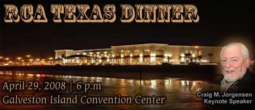 RCA Texas Dinner