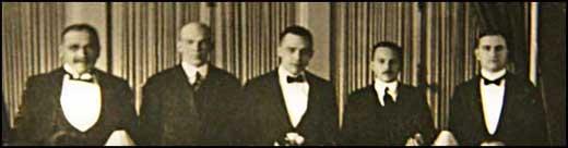 RCA 1919 banquet closeup
